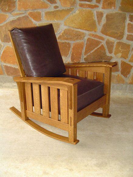 Best Beautiful Rocking Chair Morris Chair Durable Furniture 640 x 480
