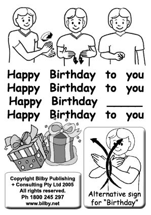 7 Happy Birthday Ahg Sign Language Personal Well Being Frontier