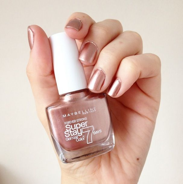 Maybelline Superstay 7 Day Gel Nail Colour Golden Brown Unghie