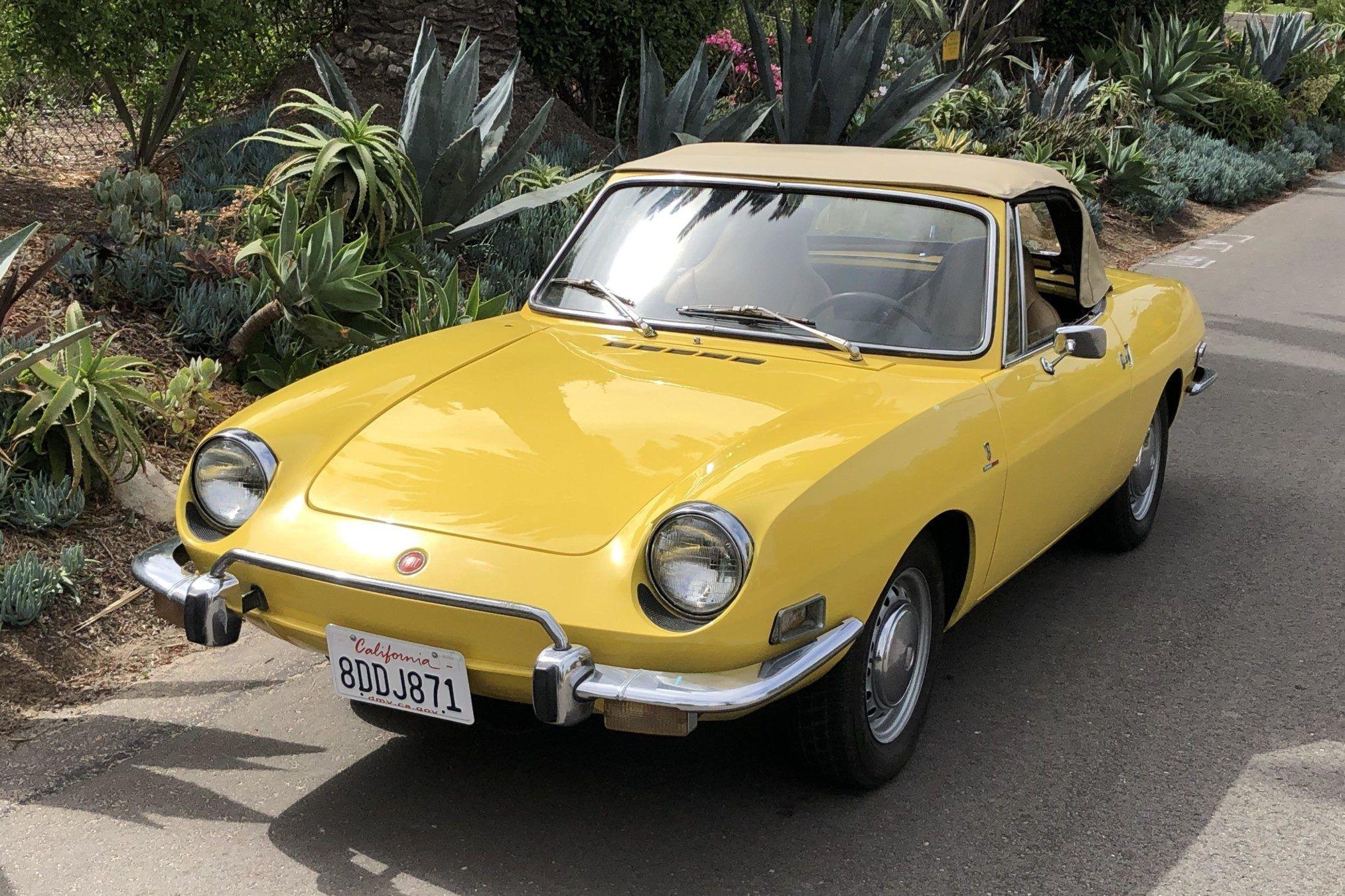 1973 Fiat 850 Sport Spider Fiat 850 Fiat Classic Cars