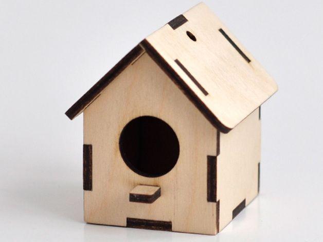 Birdhouse by cartonus - Thingiverse