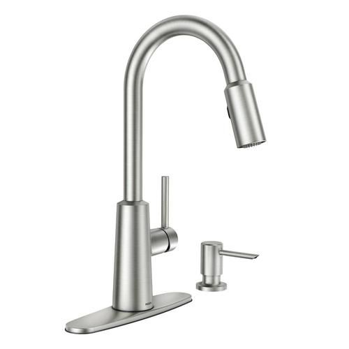 Moen Nori One Handle Pull Down Kitchen Faucet With Reflex At