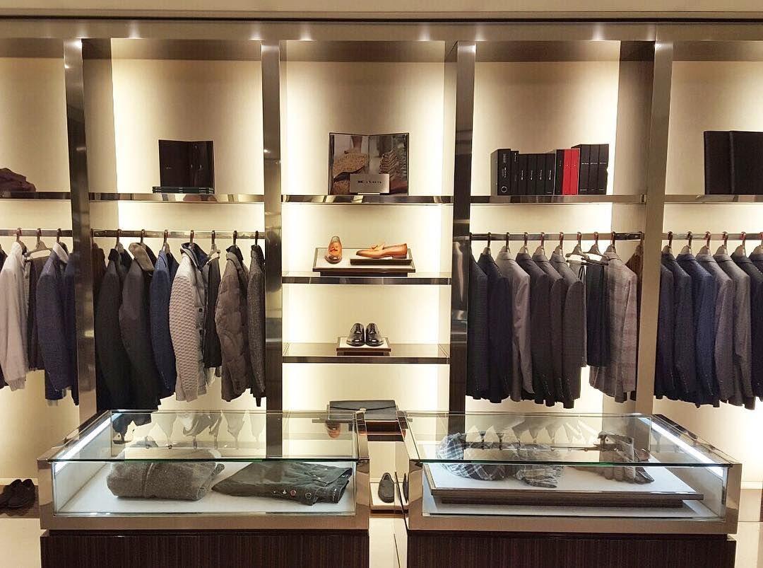 The gentleman's closet Kiton boutique Mens store
