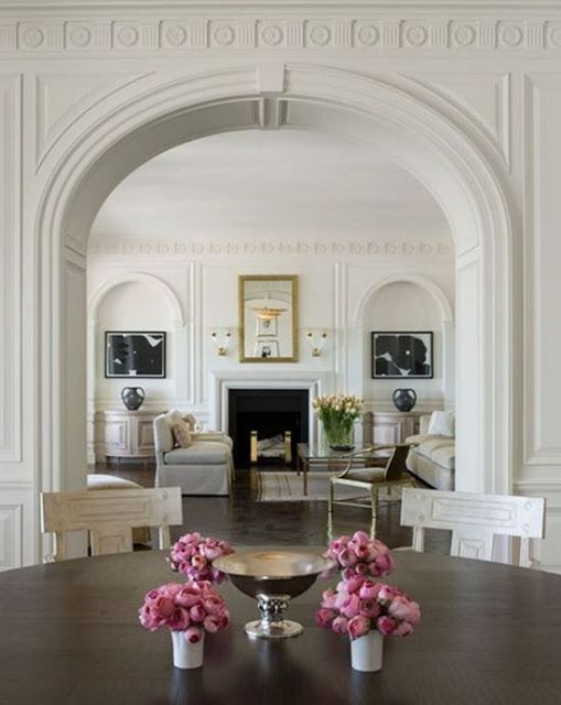 Clean and Fresh White Rooms