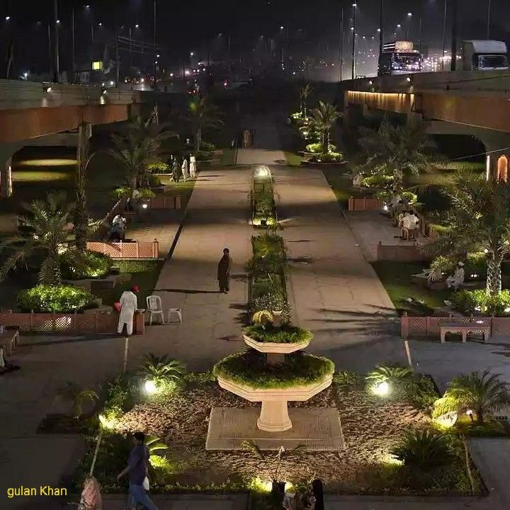 What's beauty beautiful night view of the Lahore city ...