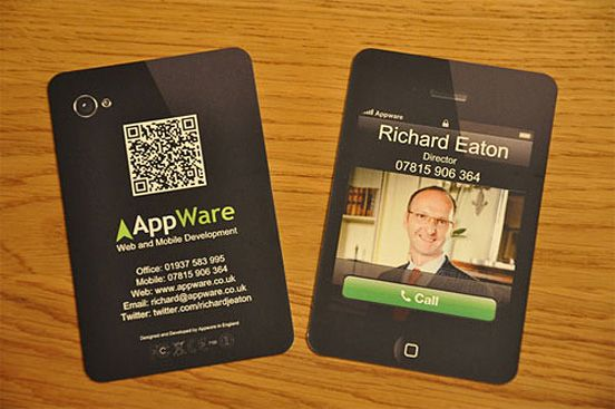 inspiring business cards showcase, creative examples - ewebdesign
