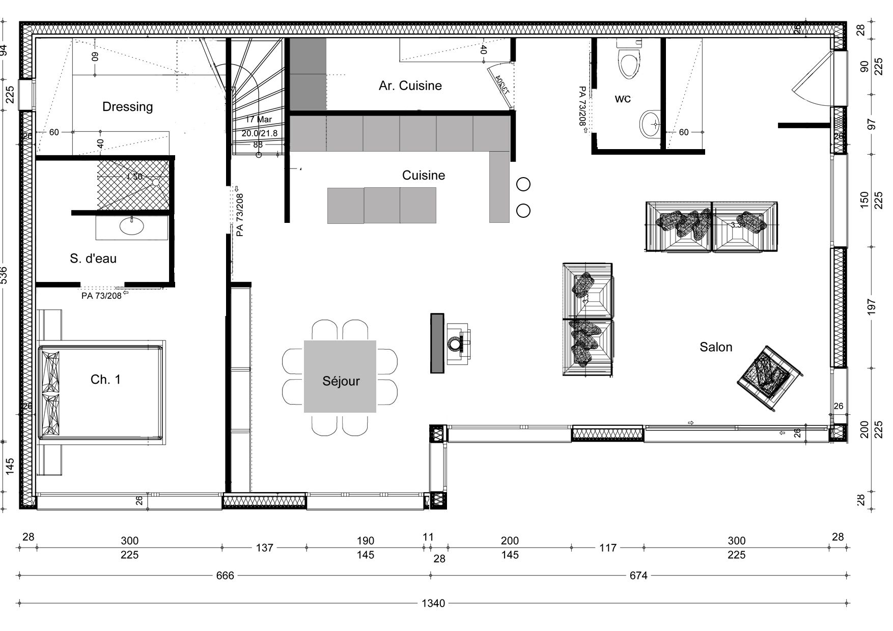 Plan maison invers e maison pinterest plans maison for Plans de maison