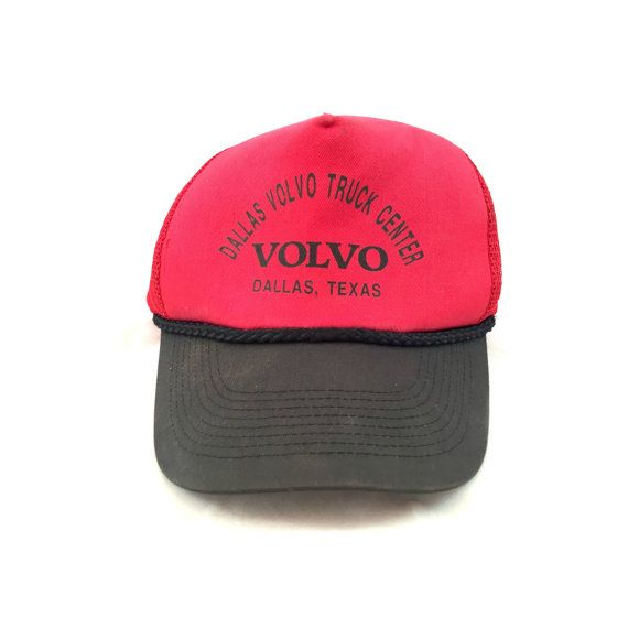 Vintage Volvo Trucker Style Cap Dallas Volvo Truck Center