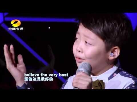 """Incredible Little Boy and Girl sing """"You Raise Me Up"""" by Josh Groban (Jeffrey Li & Celine Tam ..."""