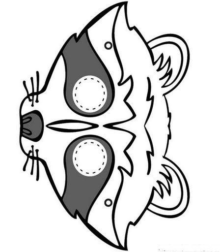 Los duendes y hadas de Ludi: Máscaras para carnaval | juegos ...