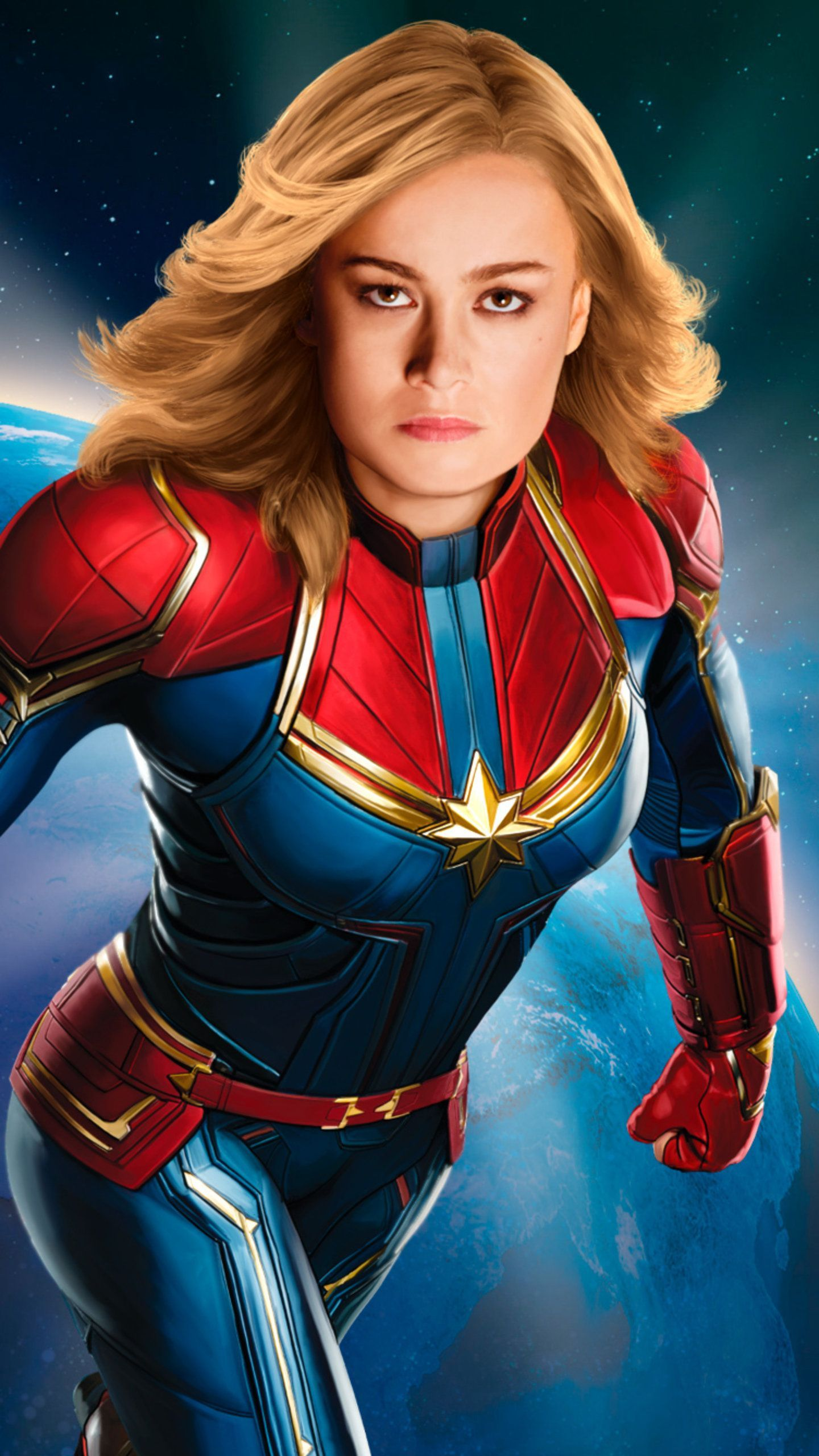 Captain Marvel New 2019 Poster HD Movies Wallpapers Photos ...