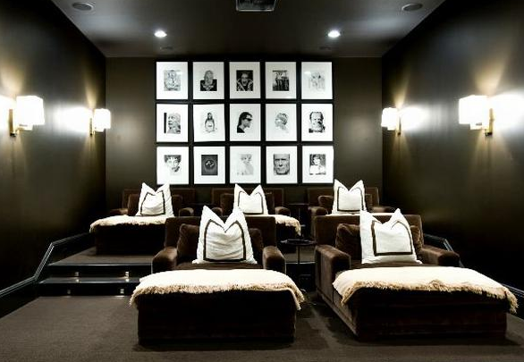 home cinema room chairs. home theatre ideas: perfect chairs for two- i love that you have seating cinema room g