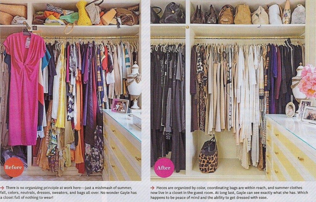Closet organization ideas closet organization tips to for Organizing ideas for closets