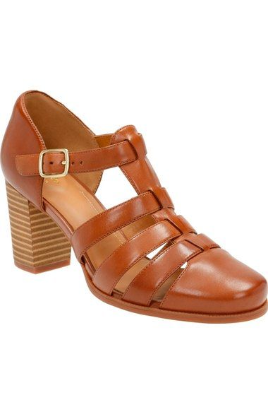37610e3bba1b Free shipping and returns on Clarks®  Ciera Gull  Sandal (Women) at  Nordstrom.com. A closed-toe sandal in supple leather is outfitted with an  OrthoLite® ...