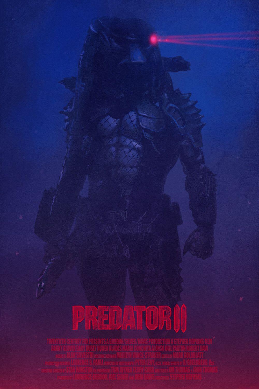Predator 2 Alternate Movie Poster Yvan Quinet On Artstation At