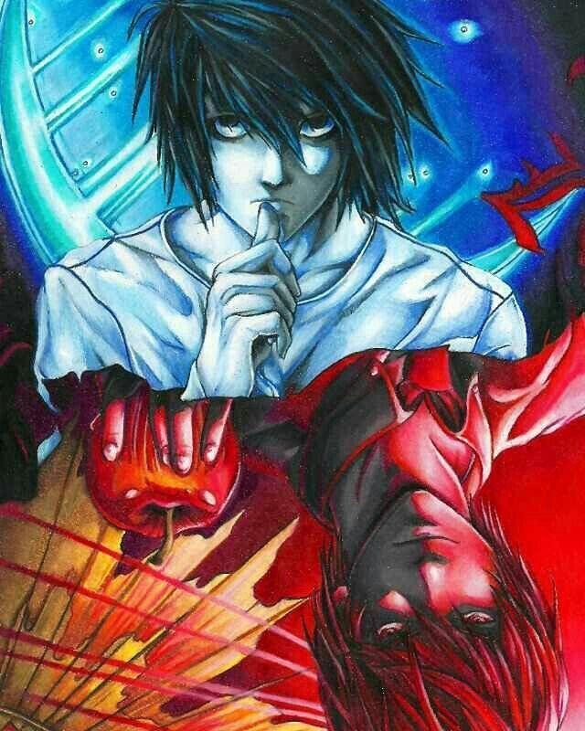 Death note L vs Kira