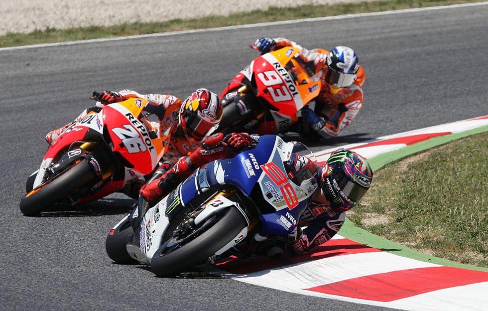 Spanish Power. Lorenzo, Pedrosa and Marquez. Moto GP 2013 | Motos ...