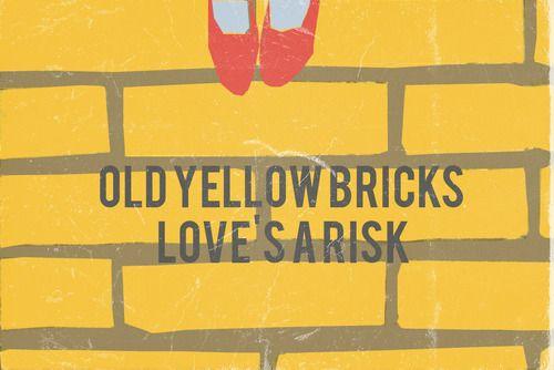 Old Yellow Bricks - Arctic Monkeys lyric art | Fancy Feast ...