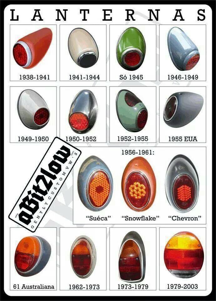 Vw Tail Lights