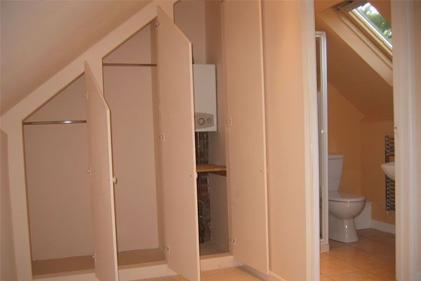 Dormer window ideas wardrobes in loft conversions by a for Dormer closet design
