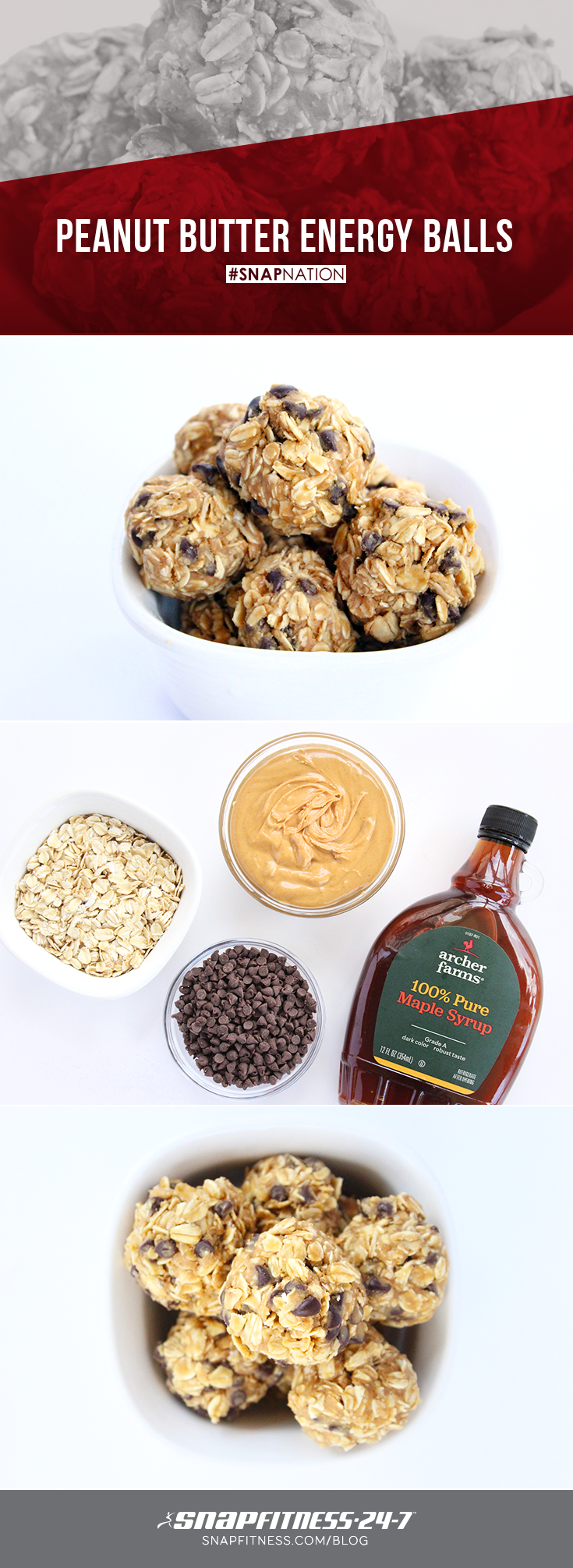 It's official: The search for the perfect protein ball recipe is over! These chocolate chip oatmeal energy balls are the perfect mix of healthy and heavenly. You can thank us later.
