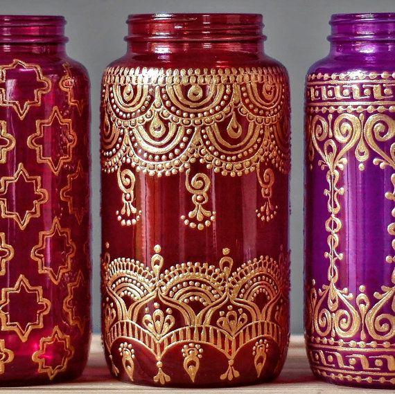 cette lanterne color mason jar est une lanterne. Black Bedroom Furniture Sets. Home Design Ideas