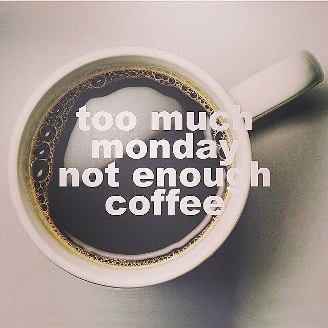 "24 tykkäystä, 2 kommenttia - Corso Coffee (@corsocoffee) Instagramissa: ""Less #Monday, more #coffee please. #MondayMadness #CorsoCoffee"""