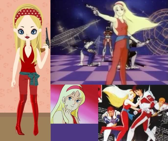 April Eagle,  Saber rider and the star sheriffs