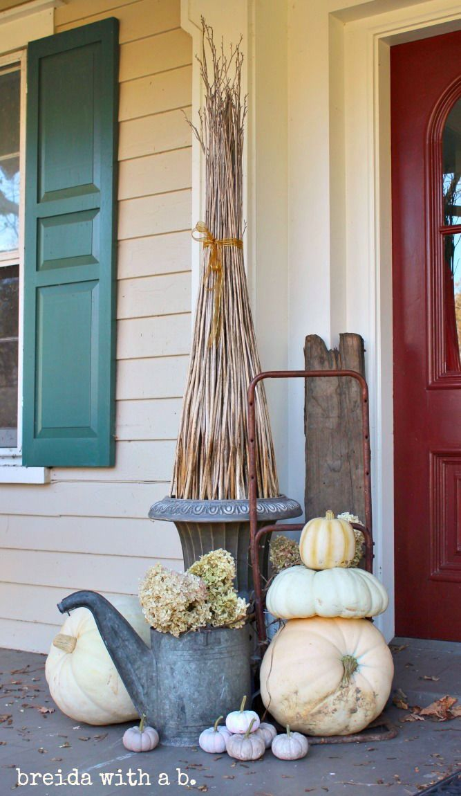 27 Fall Front Porch Decor Ideas #fallfrontporchdecor