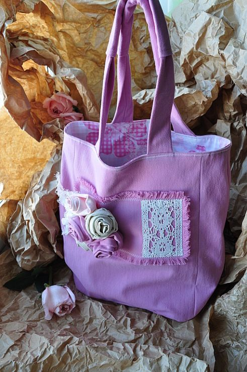 crafts for summer: sewing, crochet and knitting bags ...