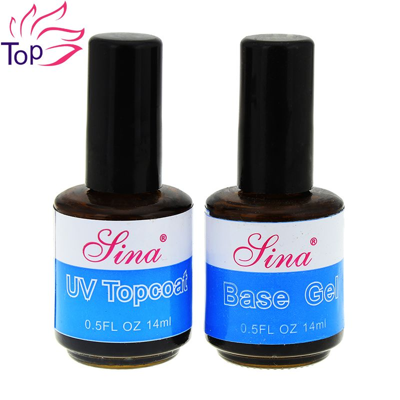 14 ml UV Top Coat Primer Para Fundación de Uñas de Gel UV ...