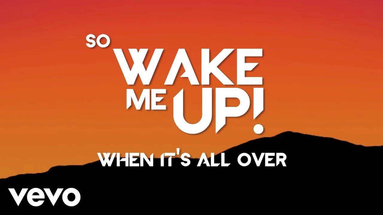 Avicii Wake Me Up Lyric Video Youtube Avicii Me Me Me