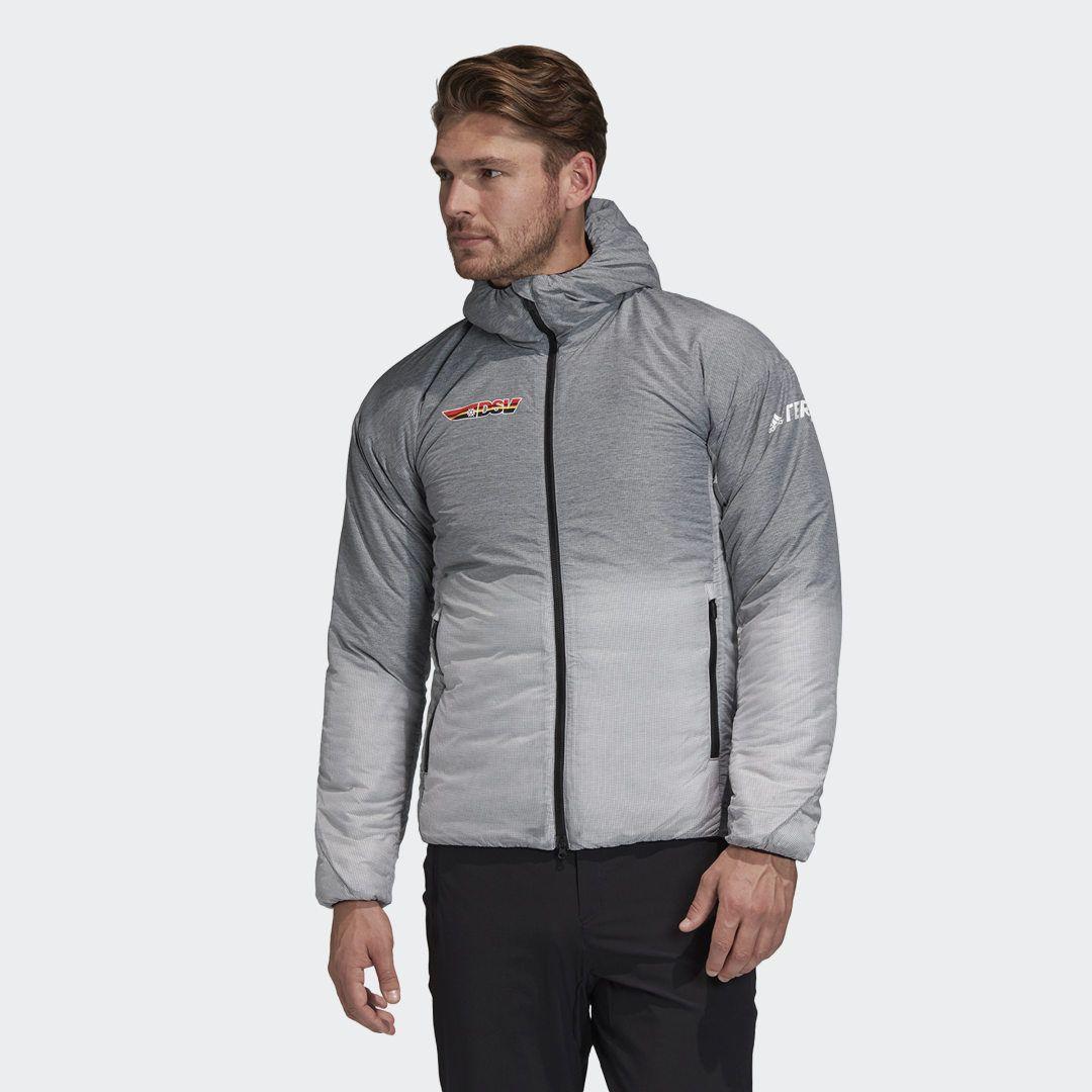 Adidas Dsv Inmotion Hooded Jacket Grey Adidas Uk In 2021 Hooded Jacket Gray Jacket Grey Adidas [ 1080 x 1080 Pixel ]