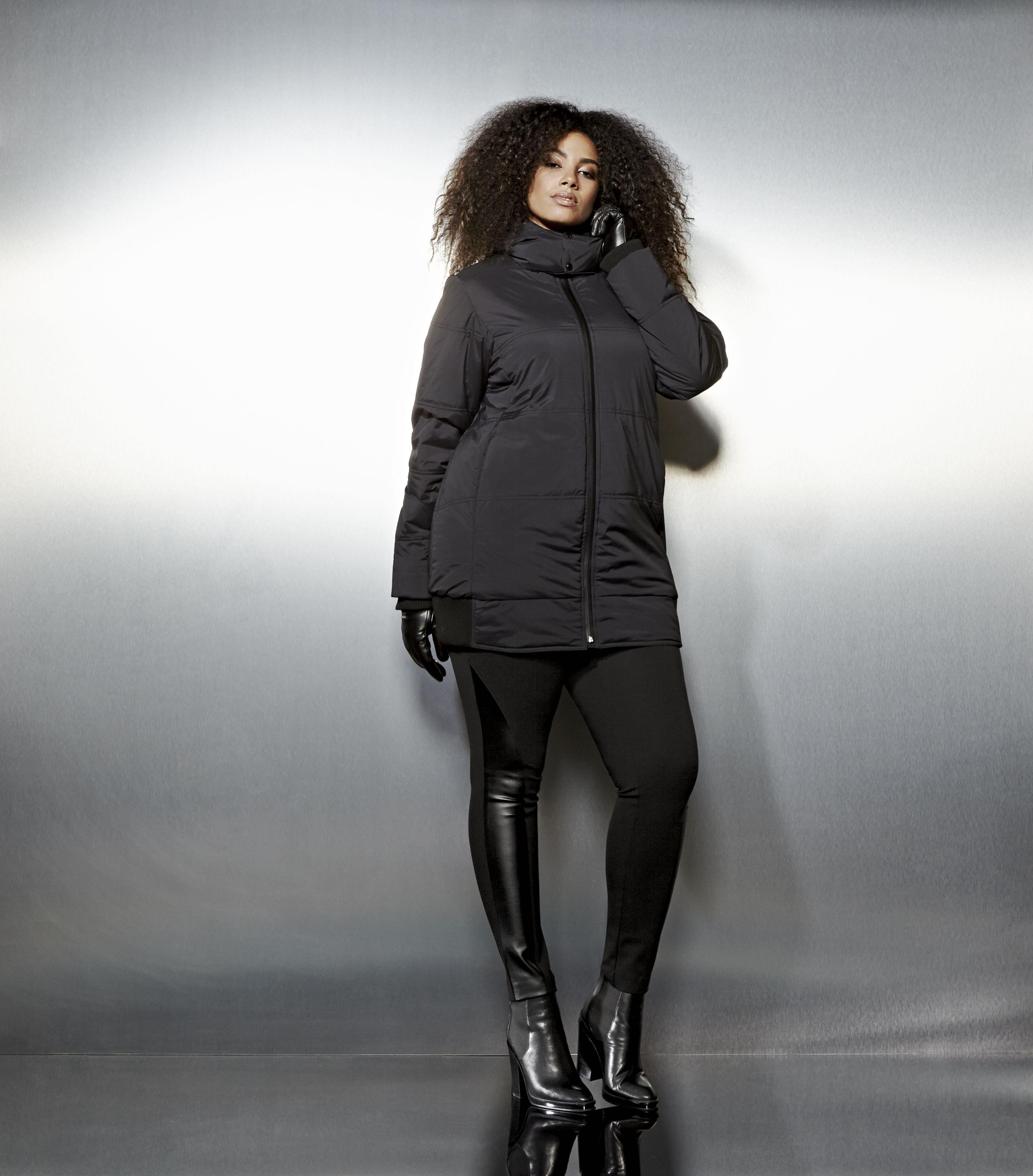 Livik Loose Puffer Jacket Plus Size Coats Plus Size Outfits Coats Jackets [ 3300 x 2900 Pixel ]