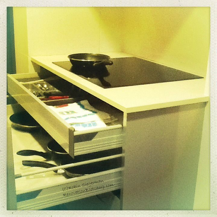 Picture Of Under Cooktop Kitchen Drawers: A Hidden Drawer Under A Cooktop Can Keep Utensils Handy