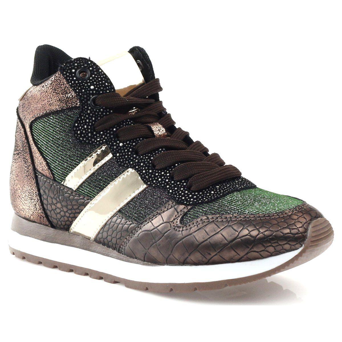 Mcarthur Buty Sportowe Bezowy Miedziane Wielokolorowe Zloty Sports Shoes Sports Footwear Shoes