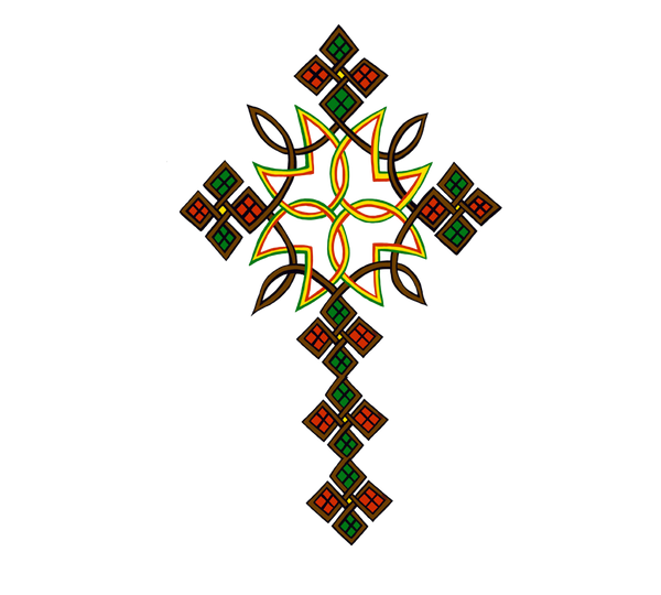 Ethiopian Cross Hoodie Traditional Ethiopian Cross Art Art Print By Awesome Gift X Small In 2020 Cross Art Art Prints Art