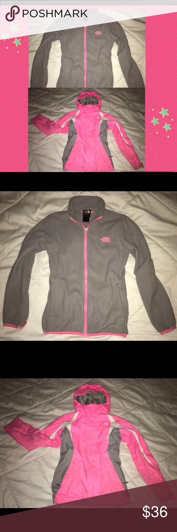 The Northface Hyvent With Detachable Fleece Girls Northface Hyvent Jacket With Deattachable Fleece Has A Hole Clothes Design North Face Jacket The North Face [ 1740 x 580 Pixel ]