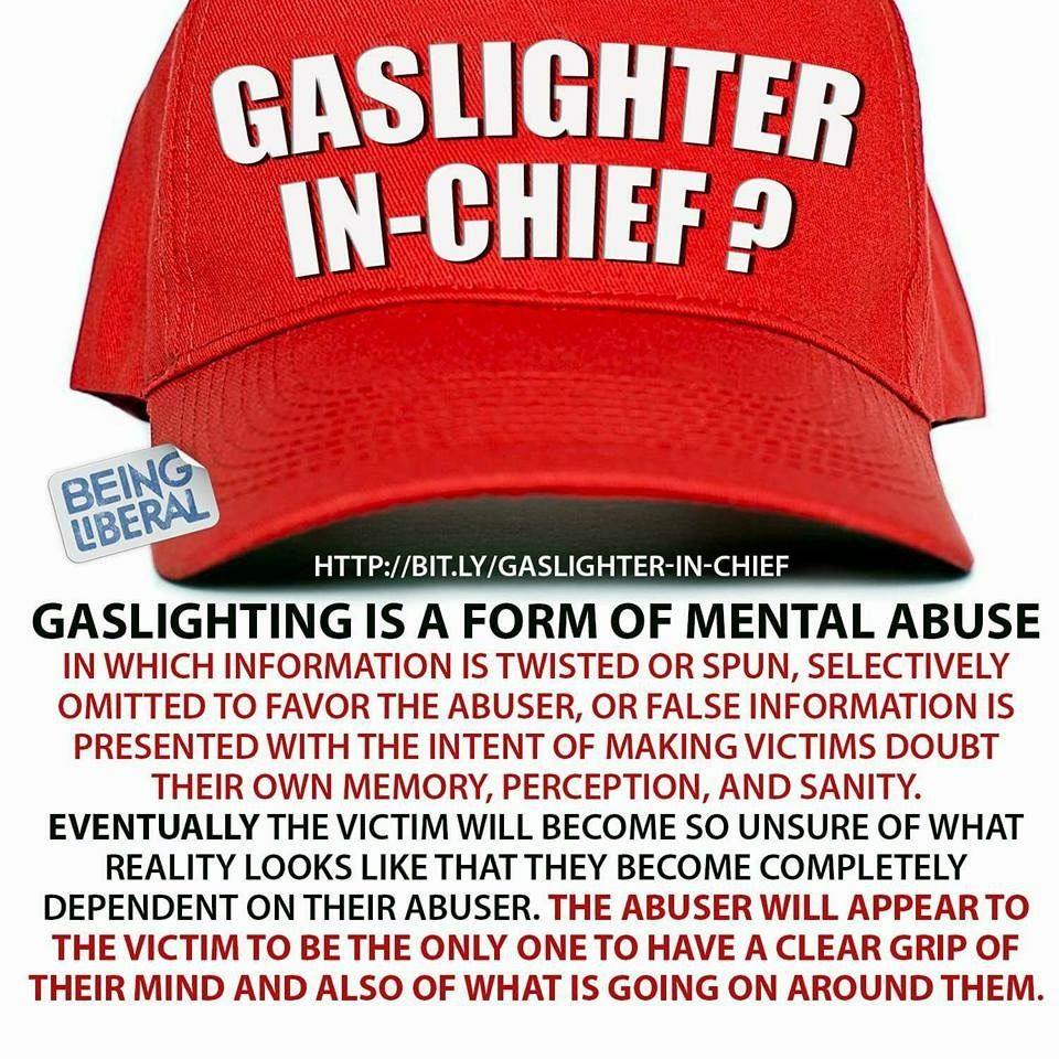 Trump: Gaslighter-In-Chief?? | important things to know