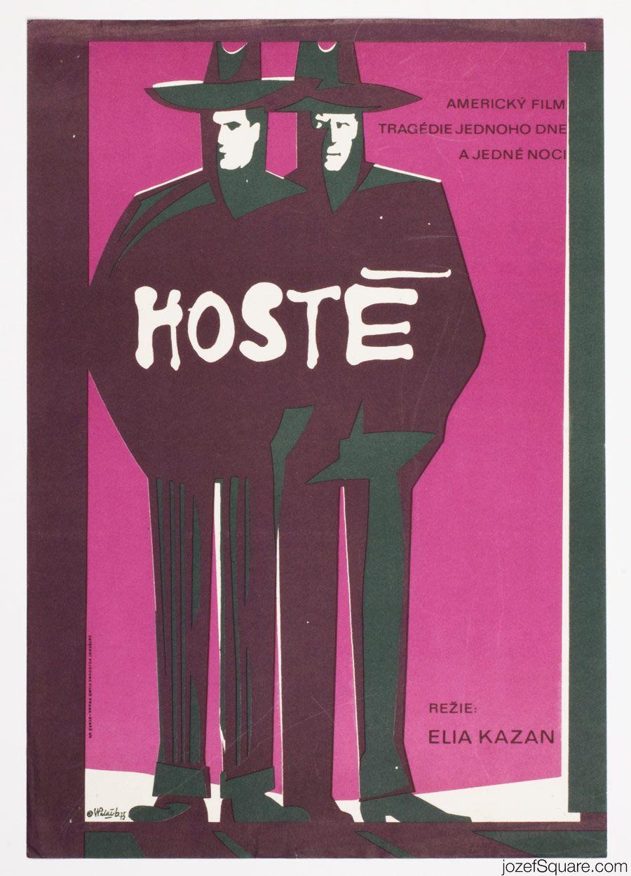 Movie Poster The Visitors, Vladimír Václav Paleček, 1975