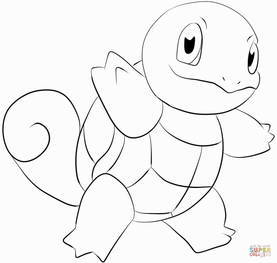 Squirtle Coloring Pages Pokemon Coloring Pages Pokemon Coloring