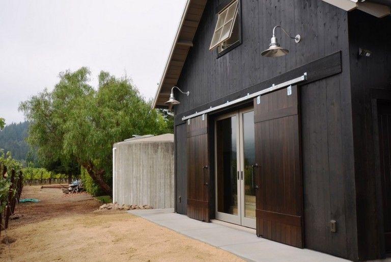 Classic Gooseneck Barn Lights For Boutique California Winery Blog Barnlightelectric Com