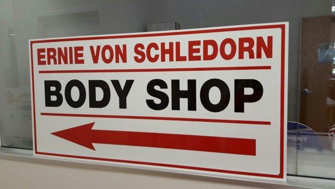 Ernie Von Schledorn >> Fastsigns Of Menomonee Falls Aluminum Sign Made For Ernie