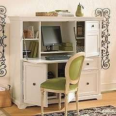 Merveilleux Grande Cambridge Computer Armoire Ballard Designs For My Office