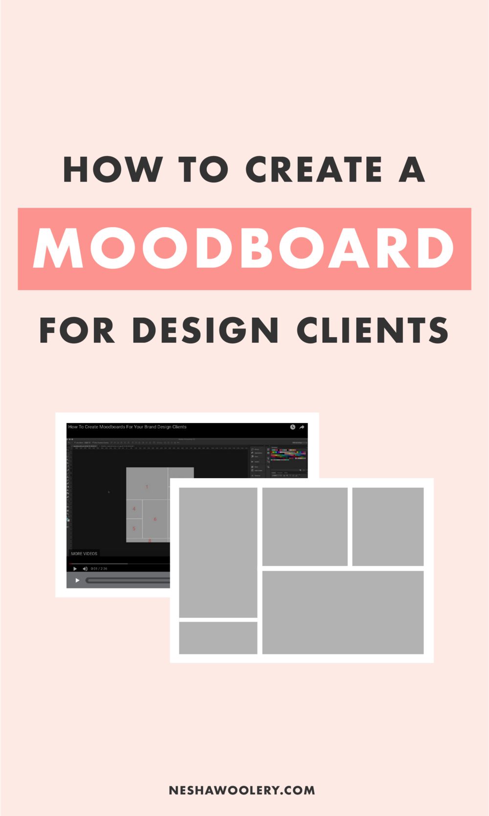 How To Create A Moodboard For Your Brand Or Web Design Clients Nesha Woolery Design Clients Mood Board Design Interior Design Website