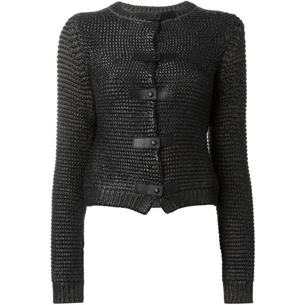 Tom Ford Embossed Snap Button Closure Cardigan (3,060 CAD ...
