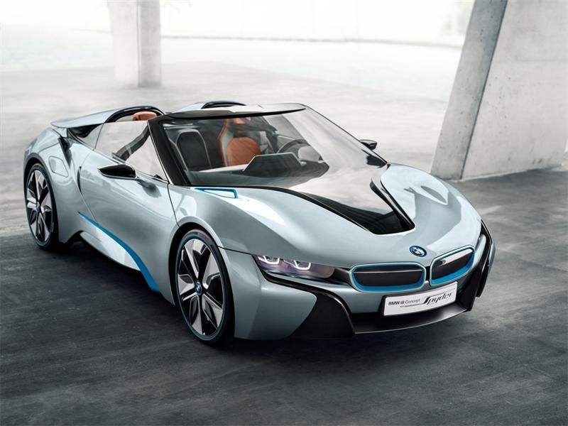 Futuristic Hybrid Roadsters The BMW Spyder Concept Is An Efficient High  Speed Luxury Ride Sport Cars Sports Cars Vs Lamborghini