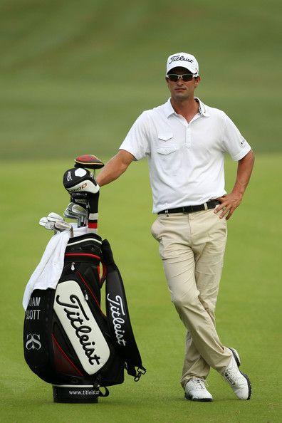Adam Scott Golfer Photos Photos Pga Championship Preview Day 2