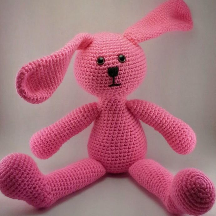 Lop Eared Bunny - Customize it! by MiniatureMonkeyCreations, $70.00 USD