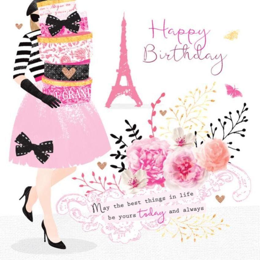 French Lady In Paris Debbie Edwards Happy Birthday Paris